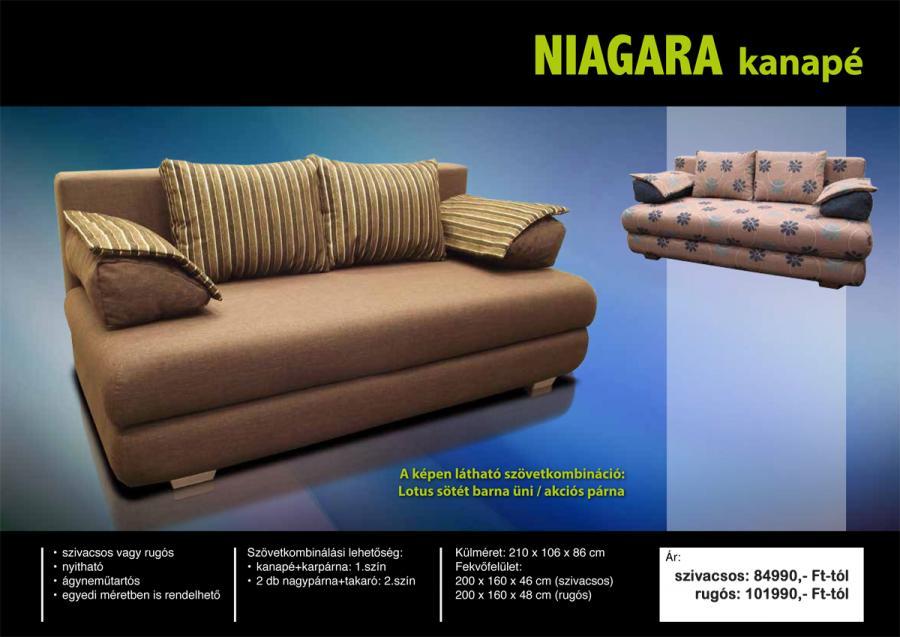 Niagara kanapé - Otthon Bútor Áruház