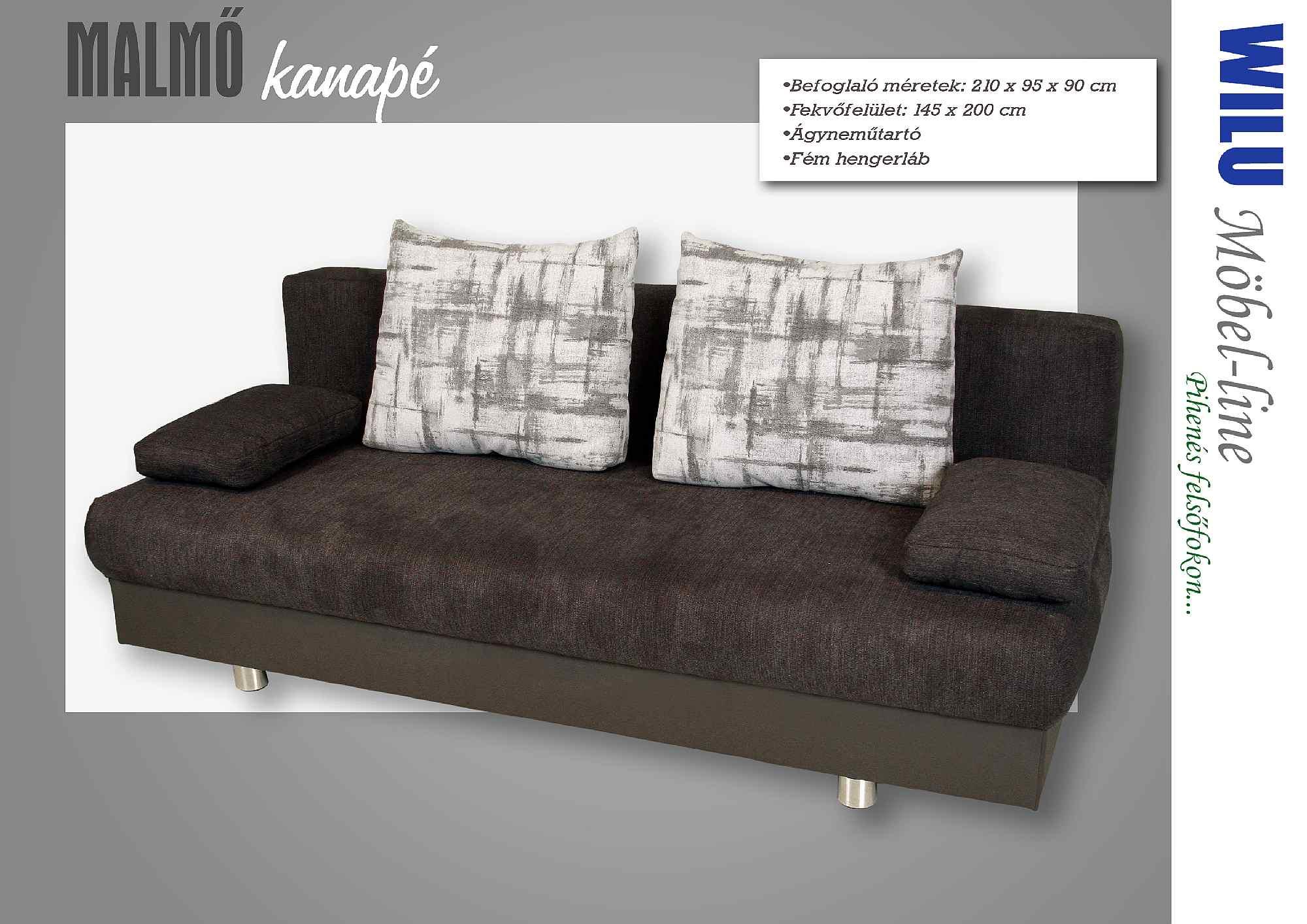 Malmő kanapé - Otthon Bútor Áruház