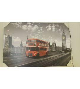 Falikép - emeletes busz