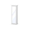 Paris előszoba tükrös szekrény fehér