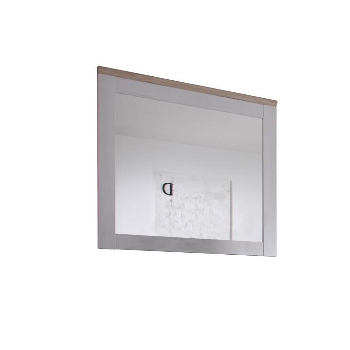 Provensal előszoba tükör fehér / san remo tölgy