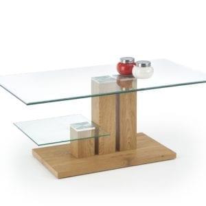 Tempa üvegasztal