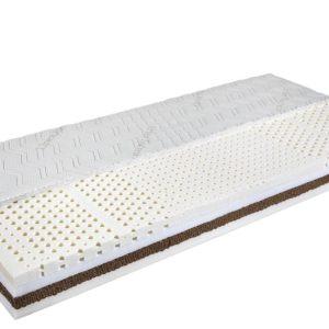 Royal-4L – zónásított latex matrac kókusz merevítéssel