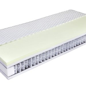 VarioFeel-4M – zónásított táskarugós matrac memóriahab fekvőfelülettel
