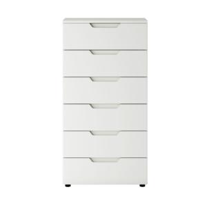 Hilton HLK01 Komód - Fényes fehér